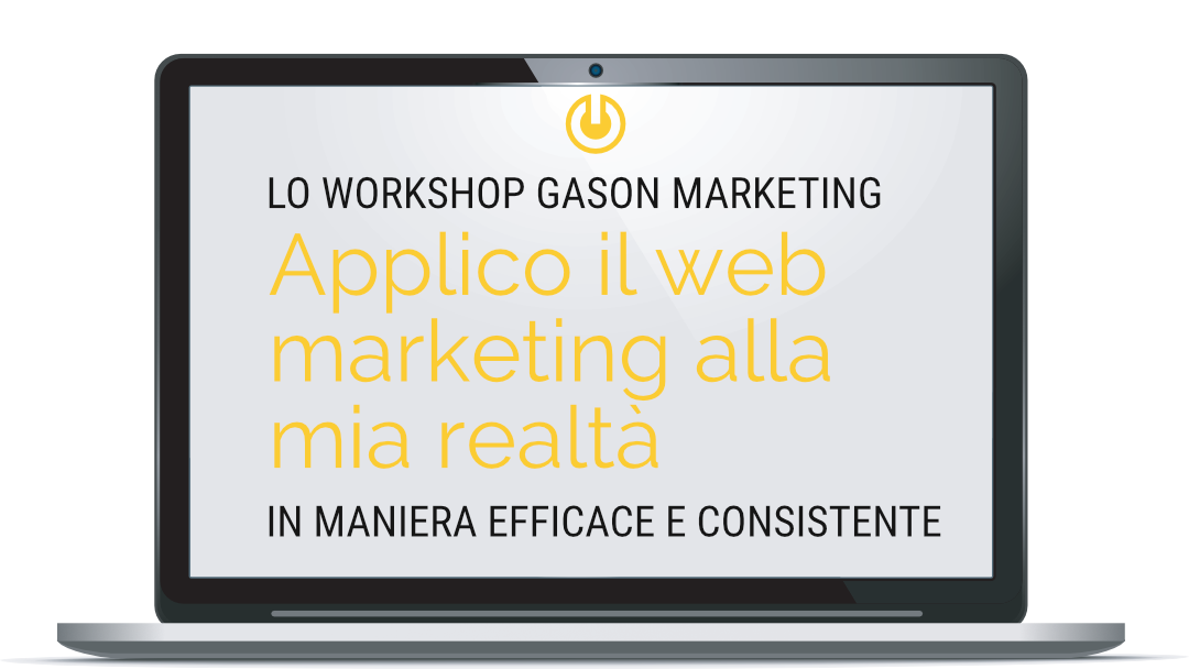 The GasOn Web Marketing Workshop [IT]